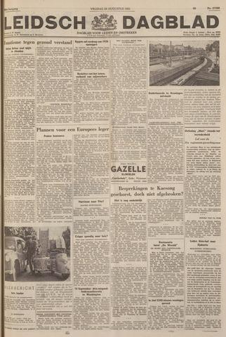 Leidsch Dagblad 1951-08-24