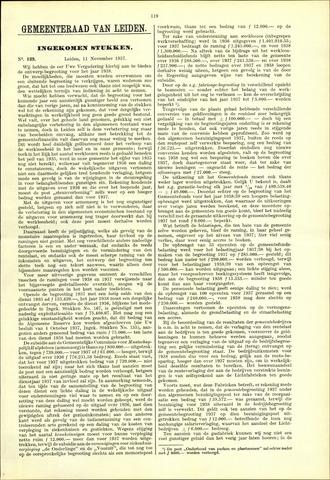 Handelingen van de Raad 1937-11-11