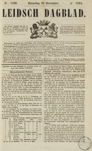 Leidsch Dagblad 1864-12-24