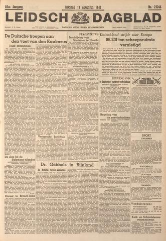 Leidsch Dagblad 1942-08-11