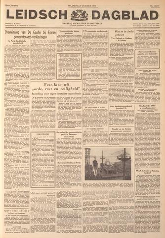 Leidsch Dagblad 1947-10-20