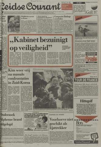 Leidse Courant 1987-06-27