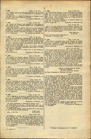 Handelingen van de Raad 1879-05-27