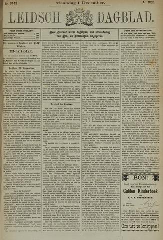 Leidsch Dagblad 1890-12-01