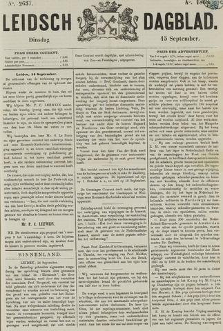 Leidsch Dagblad 1868-09-15