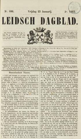 Leidsch Dagblad 1863-01-23