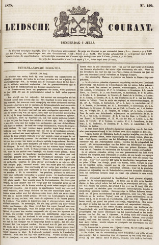 Leydse Courant 1875-07-01