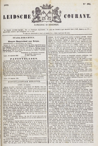 Leydse Courant 1882-08-19
