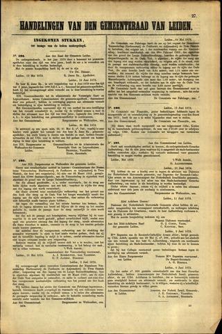Handelingen van de Raad 1872-05-17