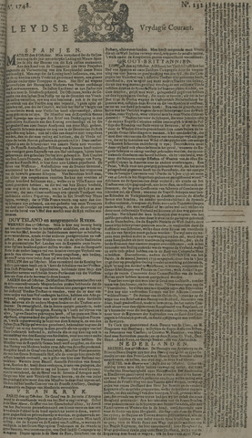 Leydse Courant 1748-11-01