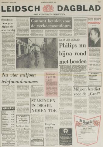 Leidsch Dagblad 1978-04-05