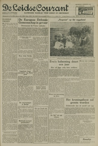 Leidse Courant 1952-08-02