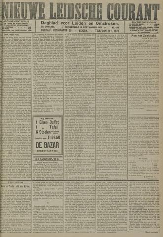 Nieuwe Leidsche Courant 1921-09-08