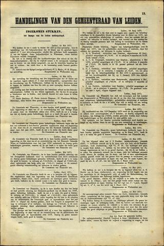 Handelingen van de Raad 1871-05-31