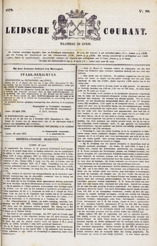 Leydse Courant 1879-04-28