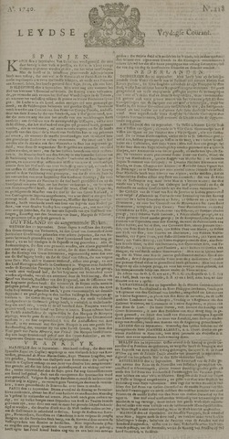 Leydse Courant 1740-09-30