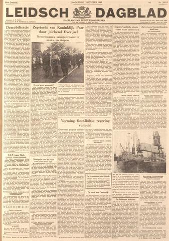 Leidsch Dagblad 1949-10-13