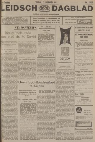 Leidsch Dagblad 1937-11-19
