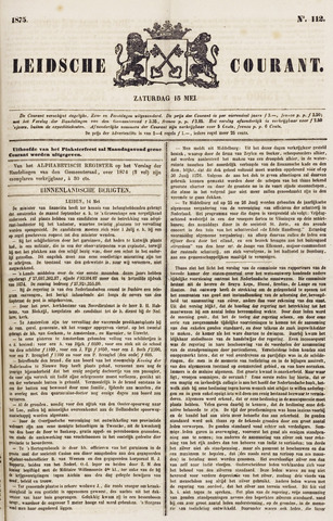 Leydse Courant 1875-05-15