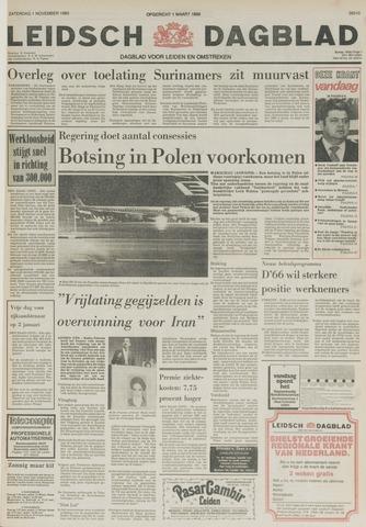 Leidsch Dagblad 1980-11-01