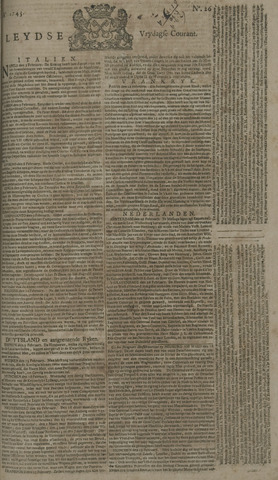 Leydse Courant 1743-03-01