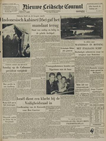 Nieuwe Leidsche Courant 1957-03-14