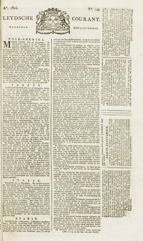 Leydse Courant 1826-12-13