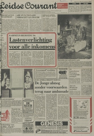 Leidse Courant 1985-07-19