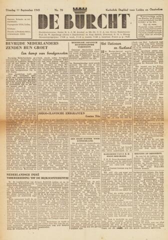 De Burcht 1945-09-11