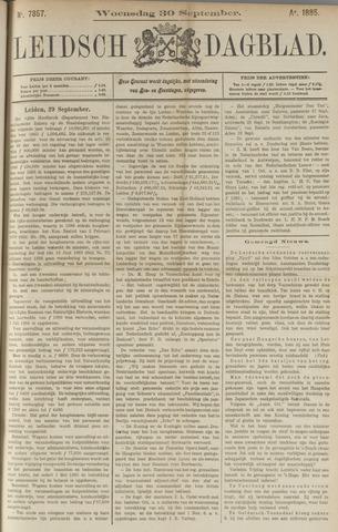 Leidsch Dagblad 1885-09-30