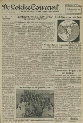 Leidse Courant 1952-11-21