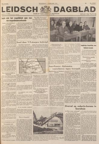Leidsch Dagblad 1951-02-07