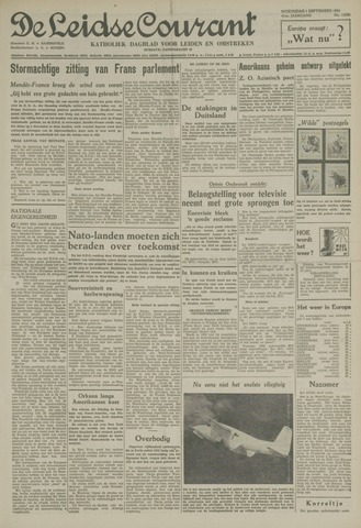 Leidse Courant 1954-09-01