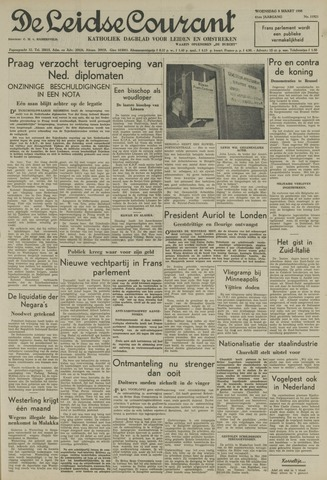 Leidse Courant 1950-03-08