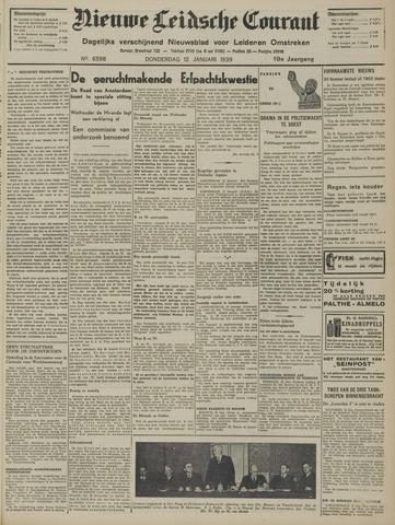Nieuwe Leidsche Courant 1939-01-12