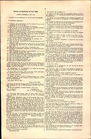 Handelingen van de Raad 1885-06-18