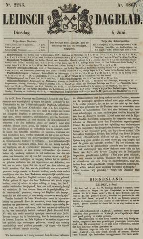 Leidsch Dagblad 1867-06-04