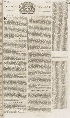 Leydse Courant 1814-10-12