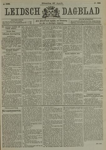 Leidsch Dagblad 1909-04-27