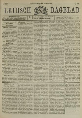 Leidsch Dagblad 1911-02-22
