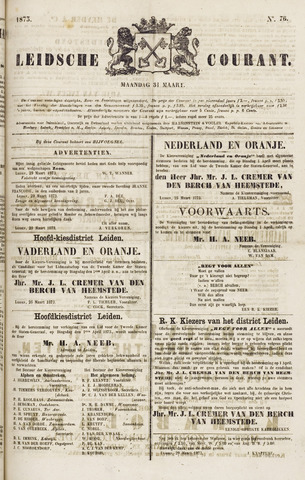 Leydse Courant 1873-03-31
