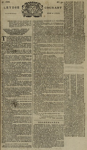 Leydse Courant 1808-07-27