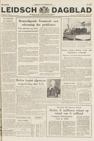 Leidsch Dagblad 1954-09-21