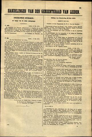 Handelingen van de Raad 1873-05-28