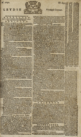Leydse Courant 1751-11-05