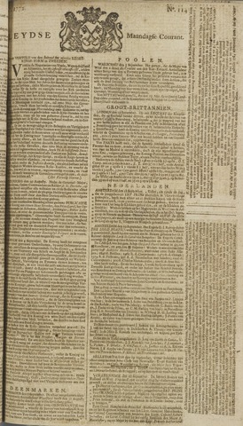 Leydse Courant 1772-09-21