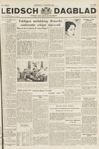 Leidsch Dagblad 1954-08-21