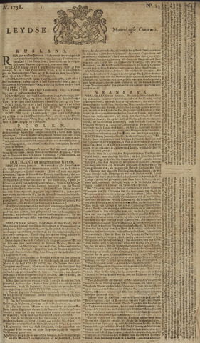 Leydse Courant 1758-01-30