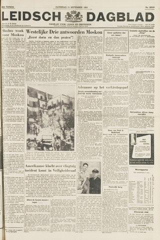 Leidsch Dagblad 1954-09-11
