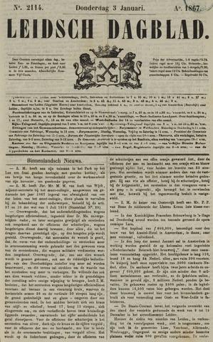 Leidsch Dagblad 1867-01-03